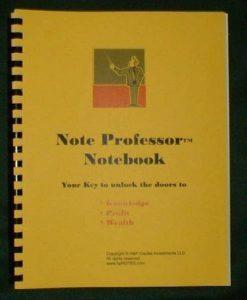 buying Note Professor Notebook